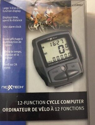 Cycle computers gps bicycle computer 6 trainers4me nexxtech bicycle computer new 12 function displays speed distance gumiabroncs Choice Image