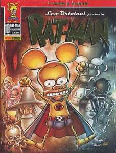 PANINI-LEO-ORTOLANI-RAT-MAN-COLLECTION-100-RATMAN-RAT-CON-ALBO-NUOVO-TUTTO