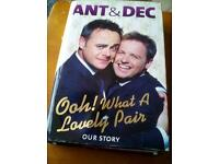For Sale - Ant&Dec Ooh! What A Lovely Pair Book