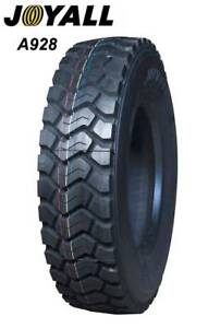 295/80R22.5 Joyall tire strong for construction & heavy industry Perth Perth City Area Preview