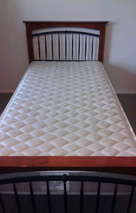 Single bed with Sealy mattress /delivery available Daisy Hill Logan Area Preview