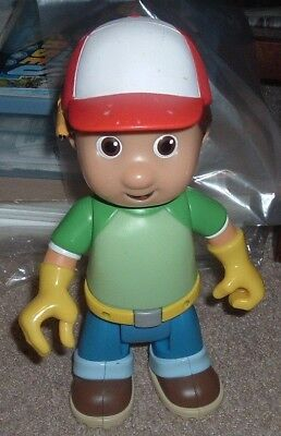 """2007 DISNEY HANDY MANNY Let's Go To Work 10"""" Talking Doll Spanish/English Works!"""