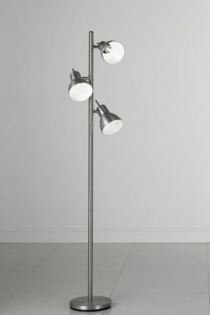 Brand New 3 Spot Light Floor Lamp Nickel In Blackheath London Gumtree