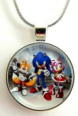 Sonic Tails Girl (SONIC THE HEDGE HOG TAILS AMY ROSE NECKLACE GIFT BOX 22 INCH CHAIN 2 MM)