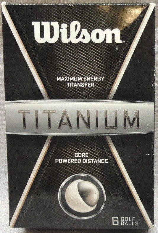 WILSON MAXIMUM ENERGY TRANSFER CORE POWERED DISTANCE TITANIU