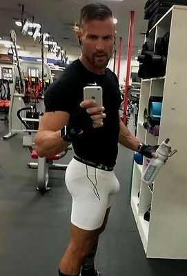 Male Muscular Athletic Fitness Gym Jock Selfie Hunk Workout PHOTO 4X6 D653