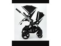 Icandy peach blossom twin double pram