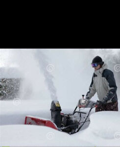 SNOWBLOWING AND SHOVELLING KV