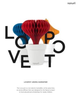 CHRISTMAS GIFT Lovepot Non-Electric Humidifier
