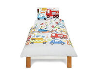 George Home Transport Toddler Bed Duvet Cover Set 120 x 150cm Easy Care New Sealed