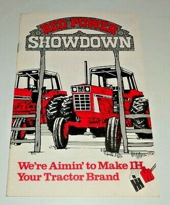 Ih International 886 986 1086 1486 1586 Tractor Sales Brochure Ad-32874-g Ihc