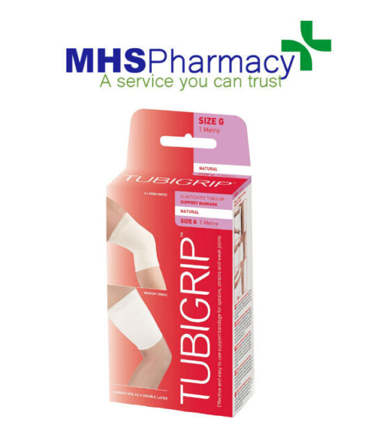 TUBIGRIP SUPPORT BANDAGE SIZE G 1 METRE