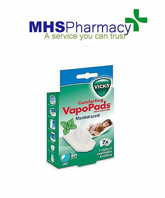 Vicks Vapopads Soothing Menthol Vapors Pack Of 7 - VH7