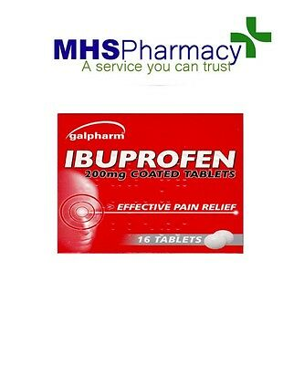 5 packs Ibuprofen 200mg 16 tablets per pack, pain relief, anti inflammatory,