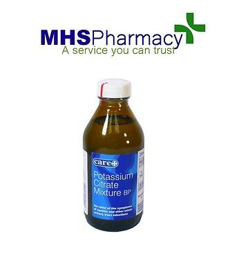 Care Potassium Citrate Mixture 200ml for Cystitis & Minor Urinary Infections