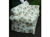 Two seater ikea sofa Ektorp (two available)