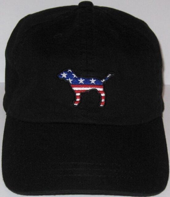 patriotic baseball hats caps wholesale mlb secret pink black flag dog hat cap