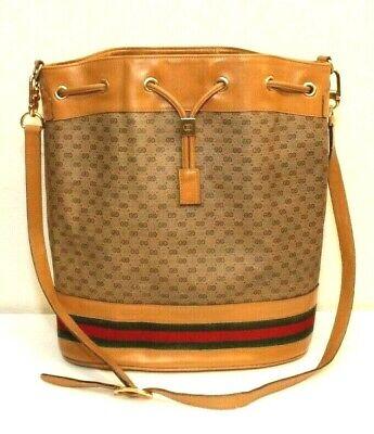 Gucci Ophidia Bucket Vintage Monogram Web Brown Gg Supreme Canvas Shoulder Bag
