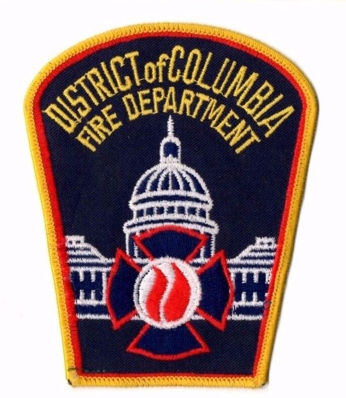 District of Columbia Fire Department Cloth Shoulder Patch