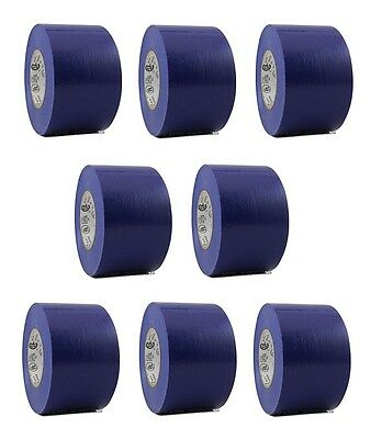 8 Rolls Blue Vinyl Pvc Electrical Tape 2 X 66 Flame Retardant Free Shipping