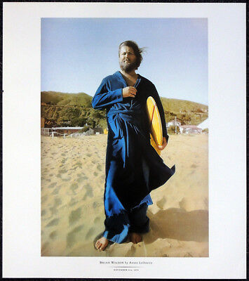 THE BEACH BOYS BRIAN WILSON POSTER PAGE . T24