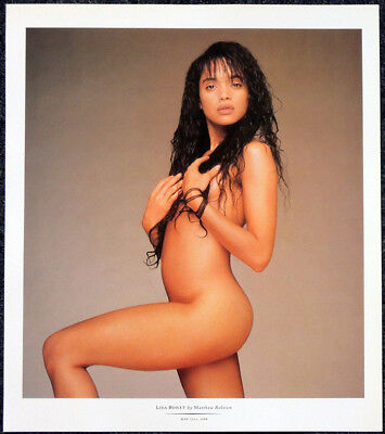 LISA BONET POSTER PAGE . THE COSBY SHOW A DIFFERENT WORLD ANGEL HEART . T80