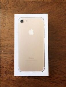 Gold IPhone 7 128GB 10/10 Condition