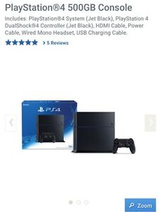 Play Station 4 500 GB Console