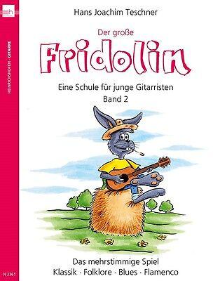 Der große Fridolin - Gitarrenschule Bd.2