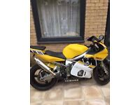 Yamaha yzf r6/motorbike/motorbikes/600cc