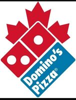 Dominos Pizza Hiring for In Store and delivery drivers
