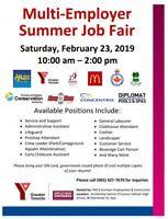 Summer Positions Job Fair