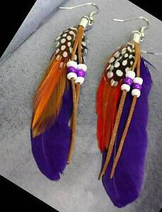 Native Art Earrings made by hand by local Artisan Yellowknife Northwest Territories image 8
