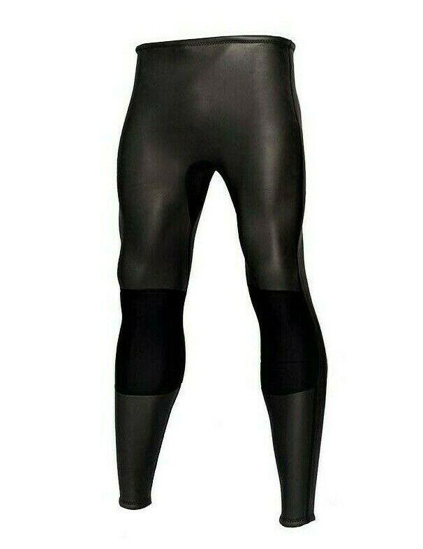 Wetsuit Pants Mens Black Sz Large 2mm Smooth Skin Neoprene 2