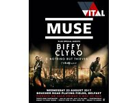2 Muse tickets