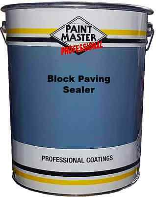 20ltr Paintmaster Polyurethane Resin Based Block Paving Sealer (Clear)