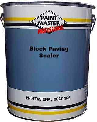 20ltr Resin Based Block Paving Sealer