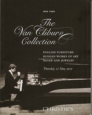 Christie S Van Cliburn Collection Russian Work Art Silver Jewelry Furniture Cat