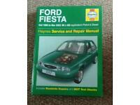 Haynes manual -ford fiesta oct '95 to mar '02
