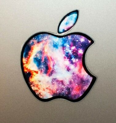 Used, GLOWING GALAXY Apple Macbook Pro Air Sticker Laptop DECAL Logo 11,12,13,15,17   for sale  Shipping to India