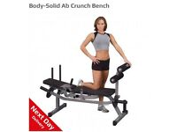 Body solid ab crunch bench