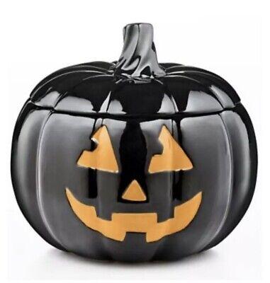 New Martha Stuart Halloween Jack-O-Lantern Cookie Jar Pumpkin Free Ship