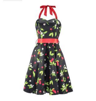 H & R London Cherry Blossom dress sz 8 + Hell Bunny petticoat sz XS-M East Victoria Park Victoria Park Area Preview