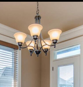 Chandelier for entrance and dining