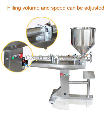 50-500ml Paste Liquid Filling Machine With Stainless Steel Holder Material Pack
