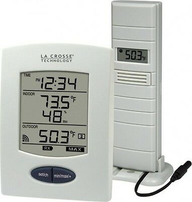 La Crosse Technology WS9029U Wireless Weather Station with Digital Time, New