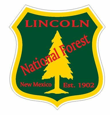 Lincoln National Forest Sticker R3266 New Mexico