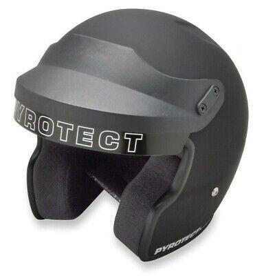 Pyrotect Helmet-Pro Airflow Open Face-Flat Black Small-SA2010