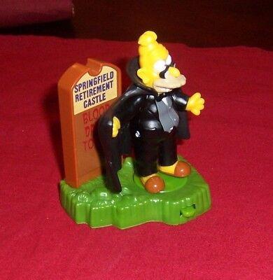 SIMPSONS VAMPIRE GRANDPA  RETIREMENT CASTLE 2001 HALLOWEEN SPOOKY BURGER KING](The Simpsons Halloween Vampire)