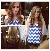HOLIDAY SPECIALS ON HAIR MAKE UP AT YOUR HOME 40$!!